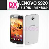 Quad core lenovo phone s920 mtk6589 cpu 1gb ram 4gb rom original brand phone