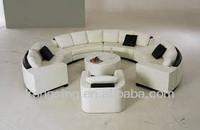c shaped goose down circular sofa for sale