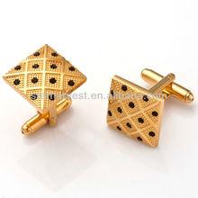 Best designer cufflinks gold plated