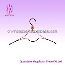 Unique design PVC coated metal clothes hanger
