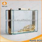 clear acrylic clutch bag,acrylic box clutch