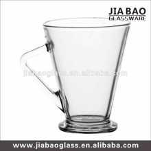 Glass juice mug, glass milk mug, glass coffee mug