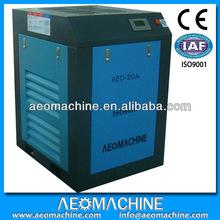 Belt- driven Electrical Silent Used industrial air compressor prices 20HP 380V 50Hz AC power