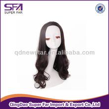 kanekalon synthetic half wig hair piece
