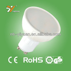 LED Spotlight GU10 4W Aluminum Plastics Compound, CE&ROHS, TUV-GS