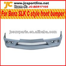 Unpainted FRP front bumper for Mercedes Benz SLK Carson style front spoiler lip