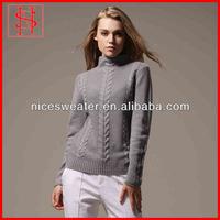 Women cable turtleneck heavy sweaters knit turtleneck sweater pattern