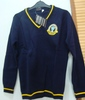 Long sleeves school uniform high quality sweaters/jumpers for boys