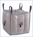 مرنة حاويات السوائب الوسيطة( fibcs) أو معظم الحقائب مع حلقة 4
