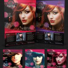 New website design for salon shop/hair salon/parolur/models