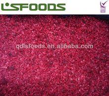 IQF raspberry crumble grade C 2014 purchasing price