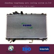 aluminum auto radiator car parts Toyota Celica DPI 1748 manufacture