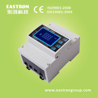 SDM630 DC Three Phase Multifunction Energy Meter, Power Monitor Energy Meter, CE Approved,Din Rail Mounted