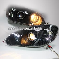 Angel Eyes head lamp for TOYOTA Corolla Altis 2005