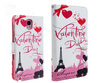 wallet leather case for htc one mini,wallet leather case for huawei ascend p6&for samsung galaxy note 3