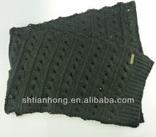 winter fashion knitting pashmina shawl