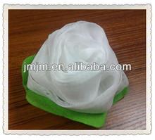 2014 new design rose mesh bath sponge ball