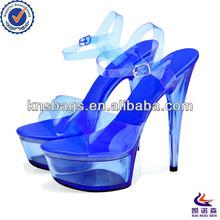 Custom low heel crystal wedding shoes