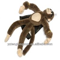 Flingshot slingshot flying plush animal screaming monkey