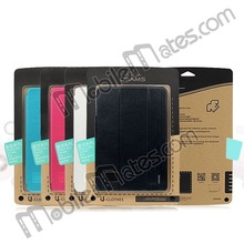 High Quality Brand Leather Case Smart Cover for iPad Mini 2 Retina Case