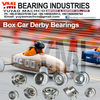 Box Car Derby Bearings SMR6202C-ZZ/C3 #3 L55/MG2