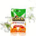Detergente, tipo solido e getta, eco- amichevole, fornito caratteristica detersivo in polvere