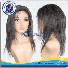 2014 China fashion Cosplay wig Brazilian virgin hair natural grey wigs