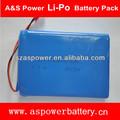 şarj edilebilir 7.4V 1368140 2S1P pil lipo 10000 mah güç aletleri