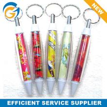 Keychain Banner Plastic Ball Pen