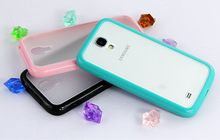 Colorful 3d sublimation rubber cell phone case for samsung S4 i9500