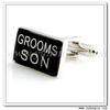 YH-1565 Rectangle Grooms Son Wedding Cufflinks Wholesale