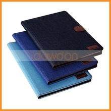 For iPad Air Denim Jeans Case with Cards Holder