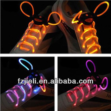 The 1st generation of led shoelaces with battery colorful silicone shoelace bulk shoelaces