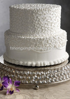 CS128 hi2 tiers crystal cake stands/ cake tool for wedding decoration,party decoration