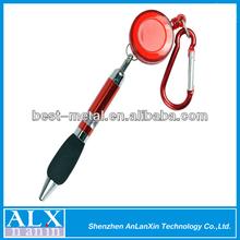 Popular 32mm badge reel ball pen