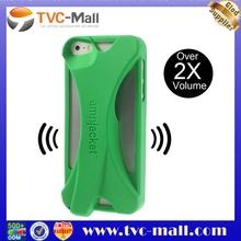 Kubxlab Ampjacket Amplifier for iPhone 5 5s TPU Gel Case - Green