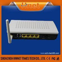 Hnet 4 port adsl wifi bsnl broadband modem