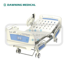 Two function electric medical bed silent castor central control brake