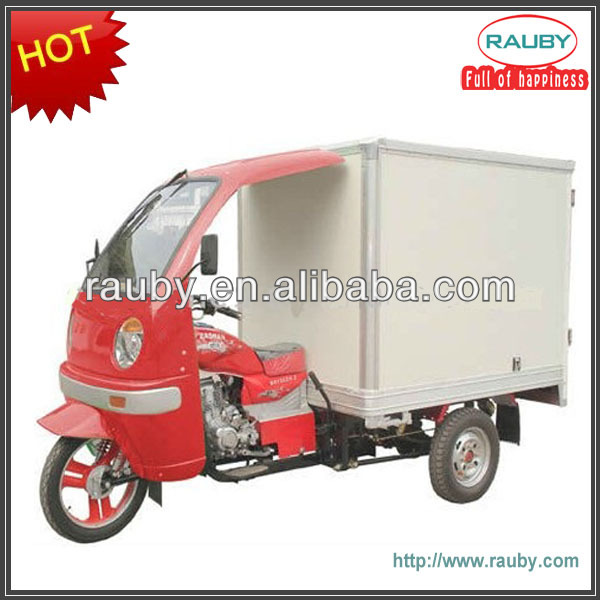 closed three wheel motorcycle and price from Rauby in China