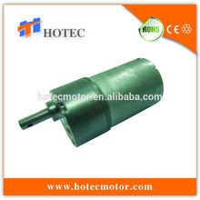 long life 37mm diameter gearbox low noise 12v high torque gear motor for hunting deer decoy