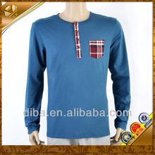 Popular cotton fashion pockey tshirt for men