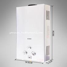 Pro Stainless Steel Tankless Gas 12L Instant Water Heater Boiler LPG Propane