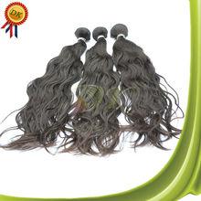 100 european remy virgin human hair weft Natural Wave colored three tone hair weave