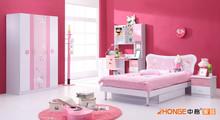 South America Style Teenager Bedroom Set Design MDA6104
