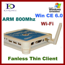 KINGDEL N380 cheapest Thin Client PC Station Terminal with ARM 800Mhz CPU, 32 Bit, Microphone, Touchscreen, WIN 7/VISTA