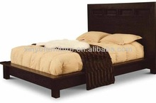 Low Profile Platform Bedroom Furniture Set with Built in Night stands XY0200