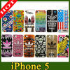 fashion sports pc case for iphone 5 5s