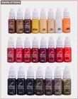 permanent tatoo pigment &makeup micro ink color- England KLAY