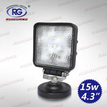 high performance Automobile led working light 10-30V 15W 4.3 inch led work light