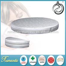 Elegant design Hotel king size round bed mattress